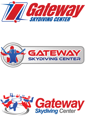 Skydiving Logo Designs
