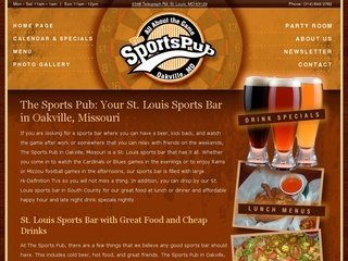 The Sports Pub: a St. Louis Sports Bar