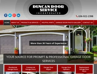 Duncan Garage Door Repair After Redesign