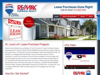 St. Louis Real Estate Agent Website After Website Redesign