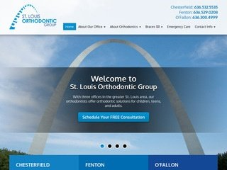 Dentist Website Design After Redesign