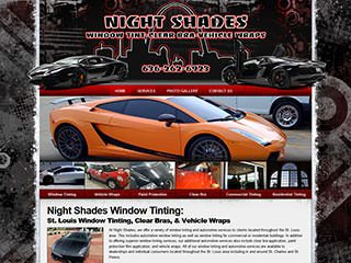 Automotive Website Design | Auto & Vehicle Window Tinting