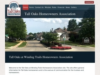 Homeowners Association Website Design