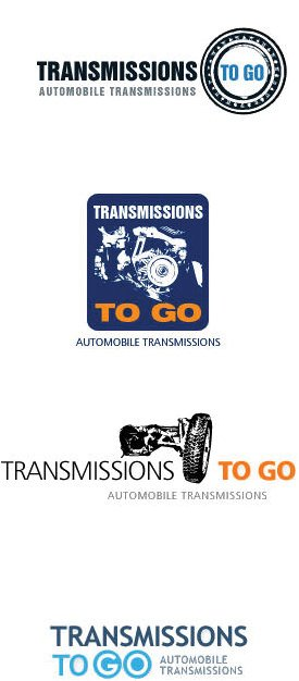 Transmission Repair Company Logo Design