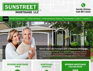 Reverse Mortgage Company Website Design