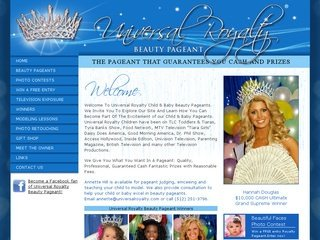 Beauty Pageant Web Design Services