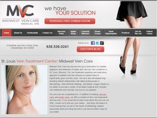 Medical Treatment Website After Redesign