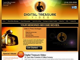Digital Treasure Video After Website Redesign